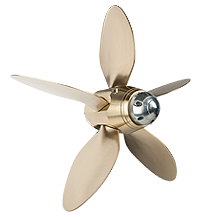 Max-Prop Boomerang automatic feathering propeller