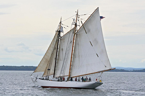Schooner Bowdoin with Max-Prop automatic feathering propeller