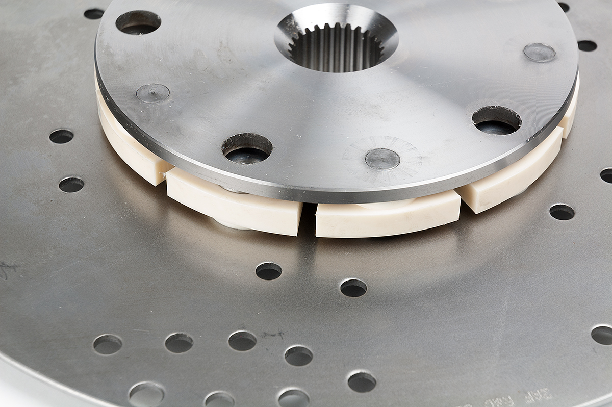 Close up of Damper Plate