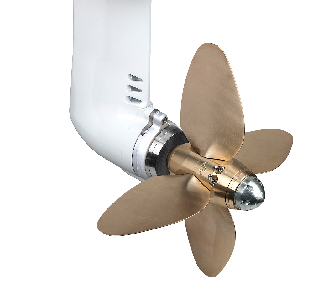 Max-Prop automatic feathering propellers for SailDrives