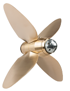 Max-Prop automatic feathering propellers