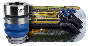 Vertical pumps, irrigation and mining PSS Shaft Seals