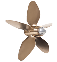 Max-Prop Whisper automatic feathering propeller